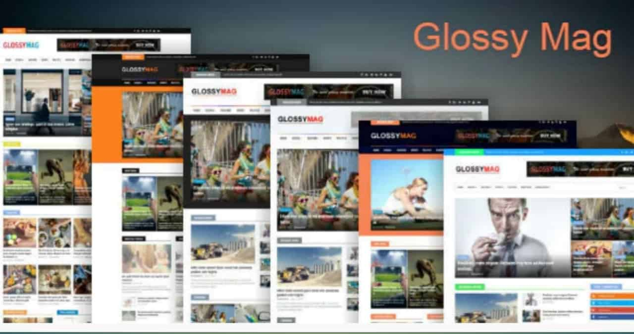 Glossy Mag - News & Magazine Blogger Theme Nulled Free Download - Colorlibo