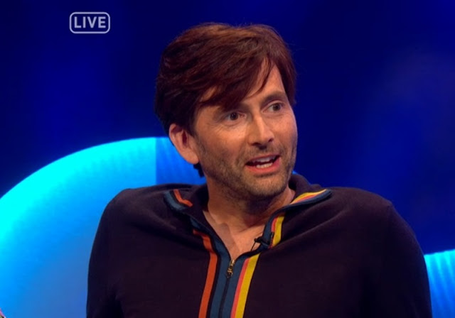 David Tennant on The Last Leg - Friday 3rd August 2018
