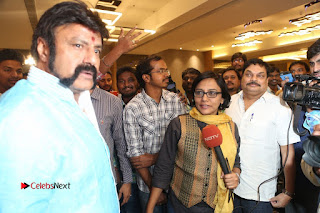 Shriya Saran Nandamuri Balakrishna at Gautamiputra Satakarni Team Press Meet Stills  0225.JPG