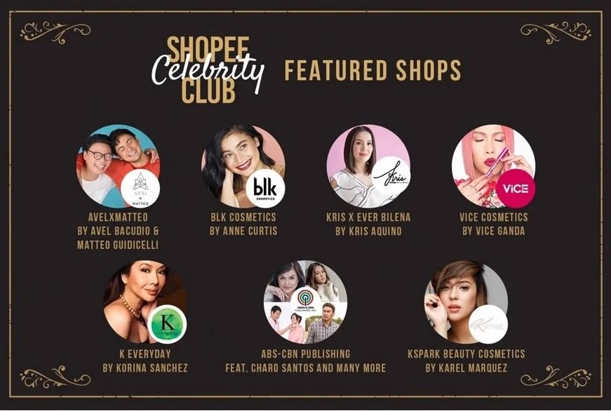 Shopee Brings Local Stars Closer to Fans with Shopee Celebrity Club