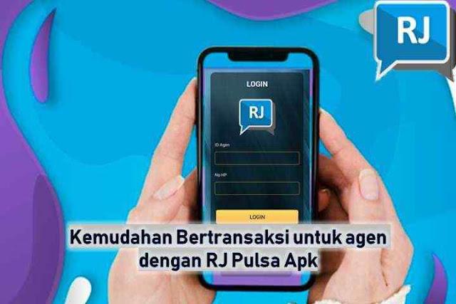 Kemudahan Bertransaksi untuk agen dengan RJ Pulsa Apk