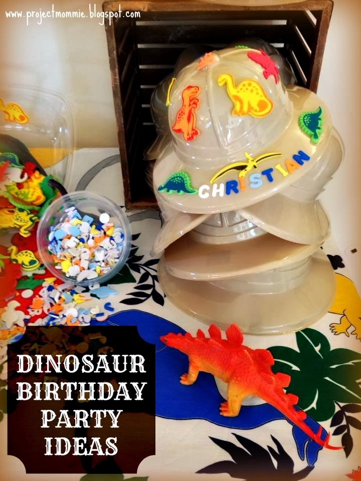 Project Mommie A 6YearsOld DinosaurThemed Dig and Excavation