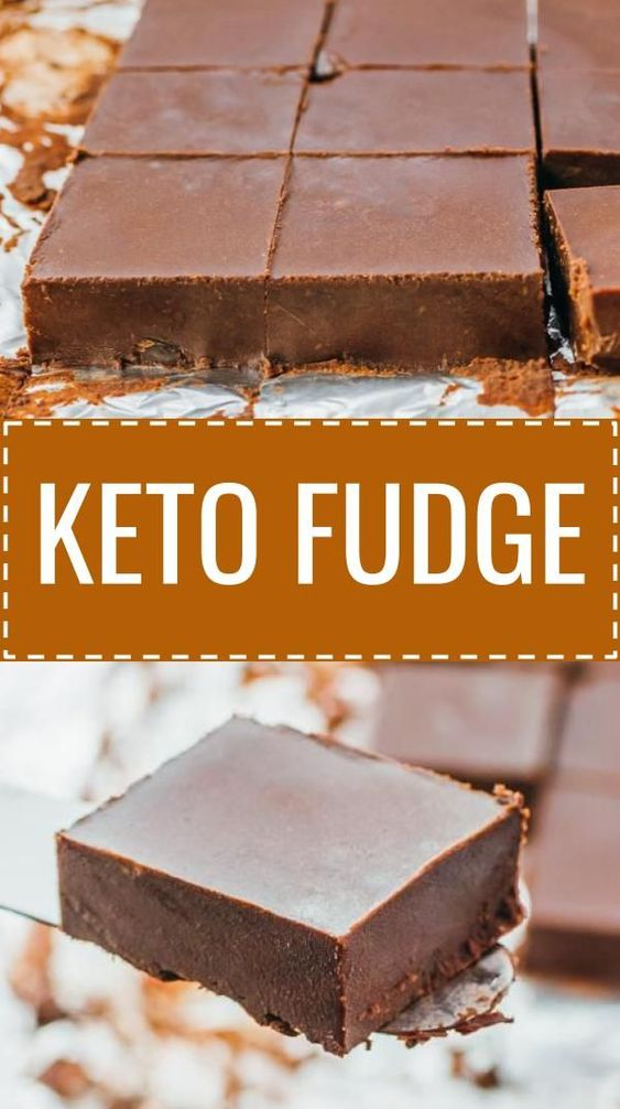 Easy KETO FUDGE