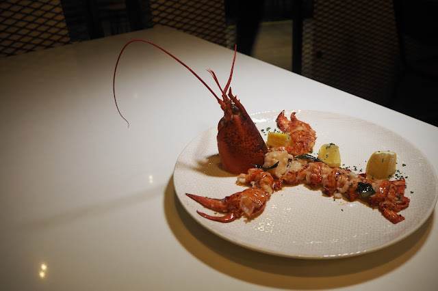 The Quarters icon village review Butter Poached Lobster (SGD $68)