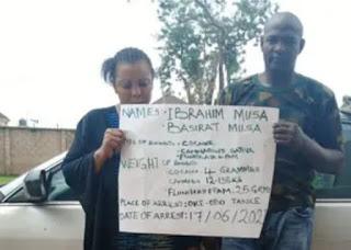 My Involvement In Drug Trafficking Started In Chibok..Ex Soldier