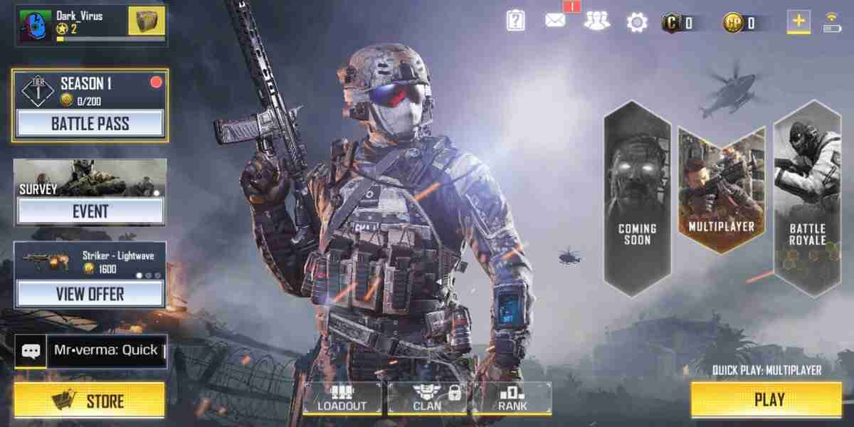 COD MOBILE HIGHLY COMPRESSED