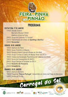Programa Feira da Pinha e do Pinhao 2020 Carregal do Sal