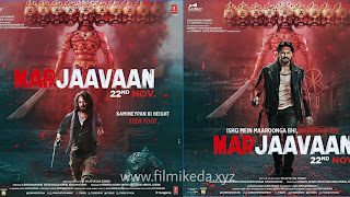 Sidharth Malhotra and Reteish Deshmukh new movie Marjaavaan Poster out now