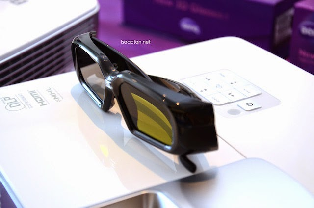 Optional 3D Glasses accessories to fully enjoy the BenQ W1070+ And W1080ST+ Home Video Projectors