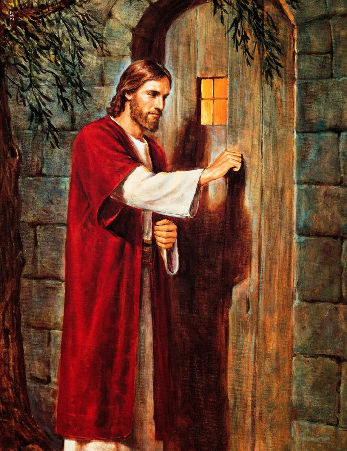 Fondo De Pantalla Semana Santa Jesus Tocando La Puerta Imagenes Hilandy