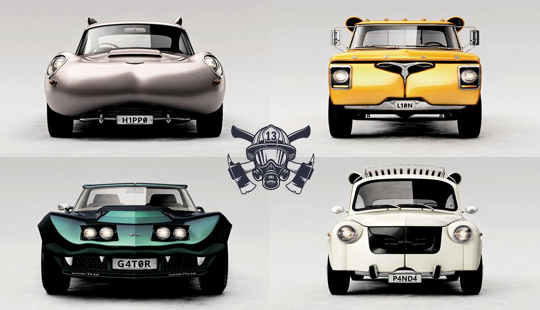 Unique Classic Car Designs Inspired By Wildlife Animals