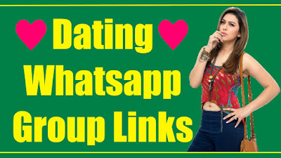 Dating Whatsapp Group Link 2020