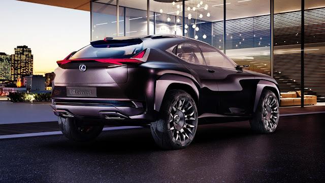 lexus ux paris motor show -  - Chiêm ngưỡng Lexus UX Concept sắp ra mắt tại triển lãm Paris