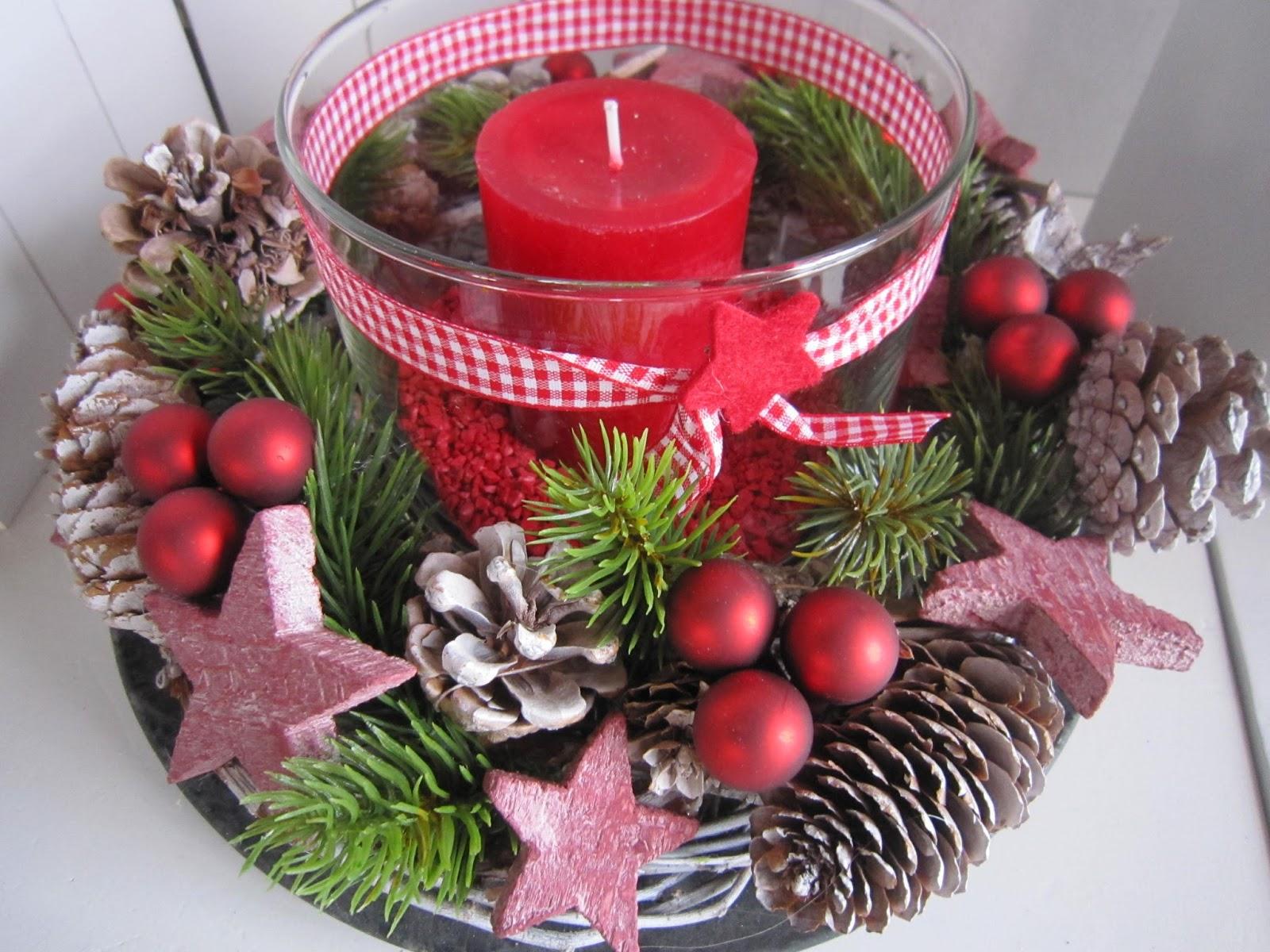 deko freuden die erste weihnachts deko. Black Bedroom Furniture Sets. Home Design Ideas