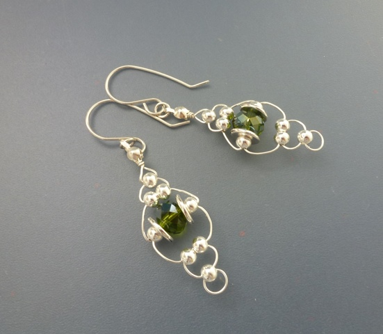 Earring Design Inspirations with Mirror Beads - The ...