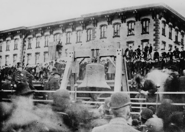 Bell Ambulance Christmas Party 2020 Pictures When The Liberty Bell Traveled Through The Valley   1893