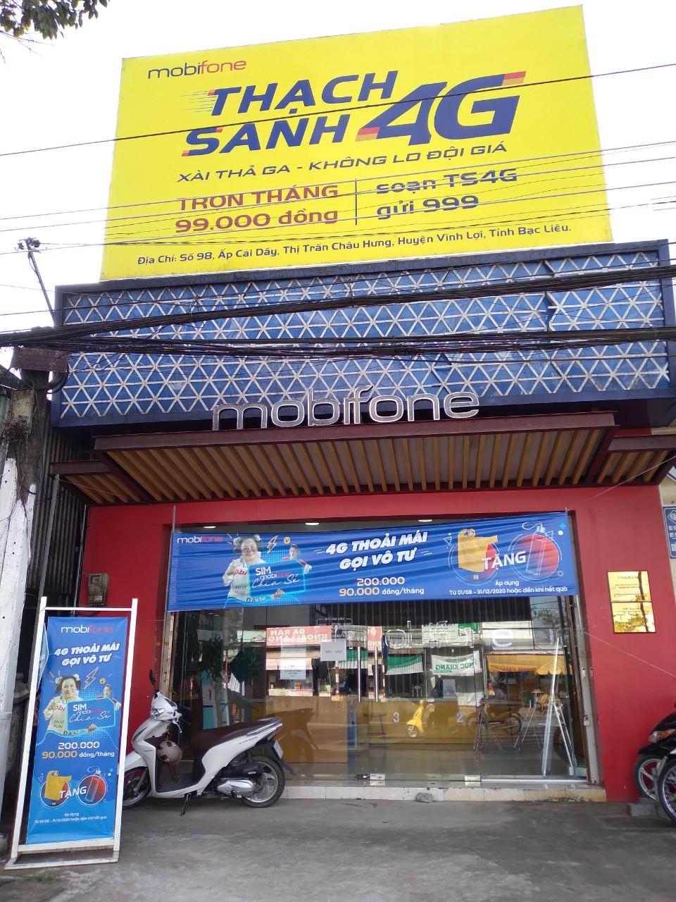 Chương trình MobiFone chia sẻ tại Điểm giao dịch Vĩnh Lợi