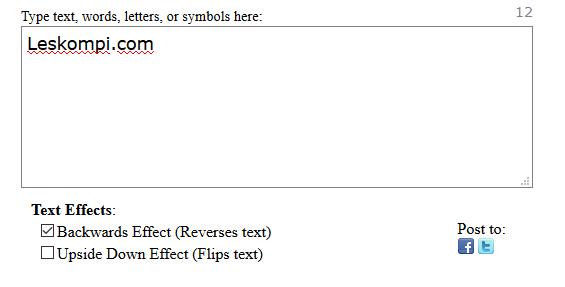 Mengatur Efek Text