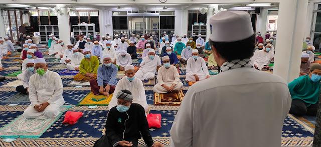 SOP Aktiviti Di Masjid Dan Surau Di Seluruh Pahang Dilonggarkan Lagi