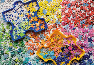 ilustrasi puzzle mainan