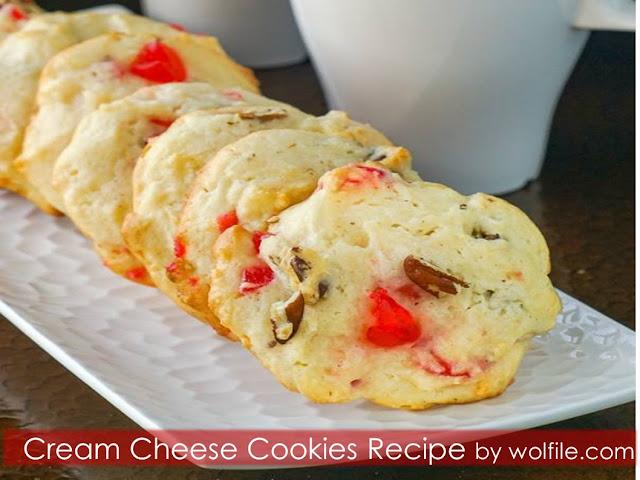 Cream Cheese Cookies Recipe #Snack #Cookies