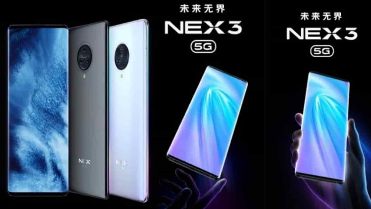 Vivo Nex 3 5G to be launched on September 16, Design glimpse