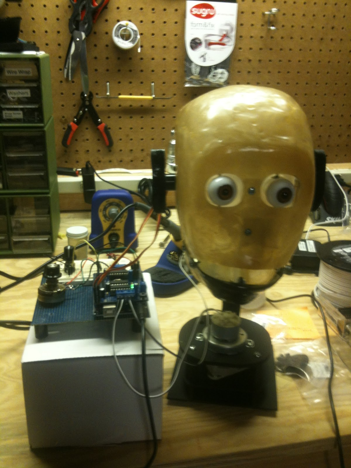 The 21st Century Digital Home: Wiring up Bob the Robotic Head