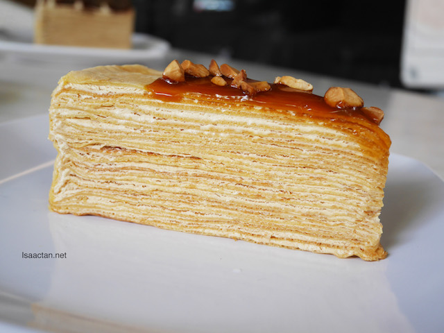 Salted Caramel Mille Crepe Cake (RM11.90)
