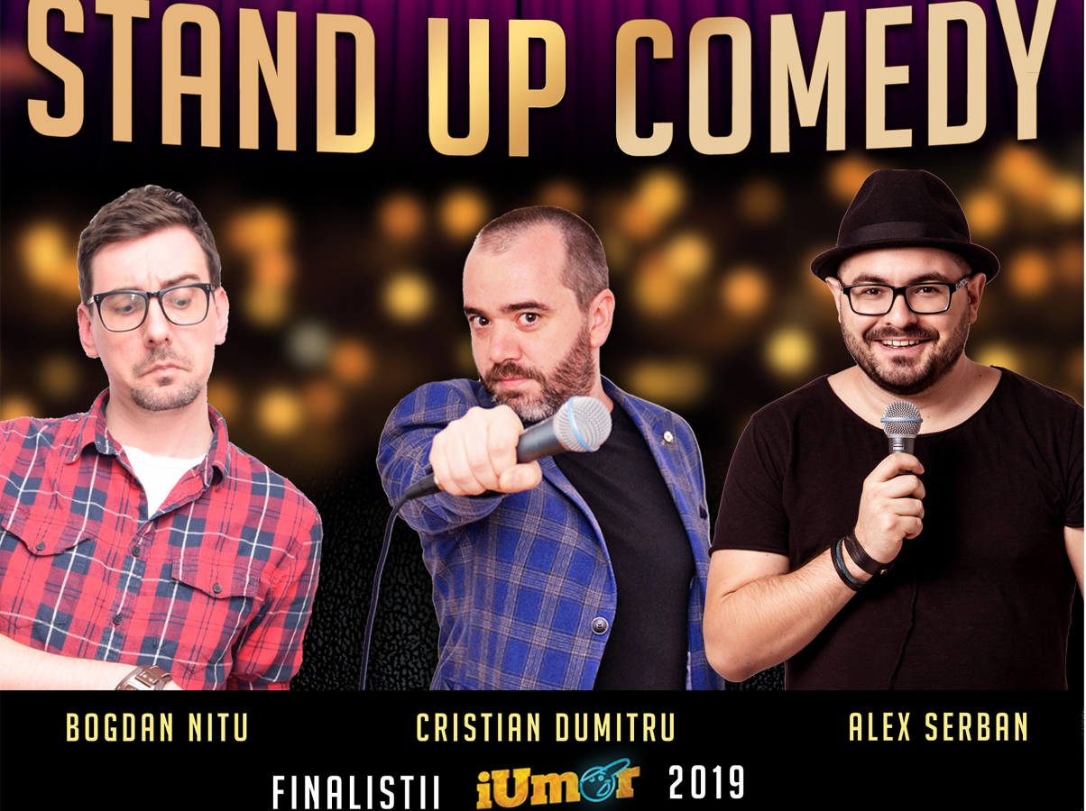 Stand-Up Comedy cu Finalistii iUmor 2019