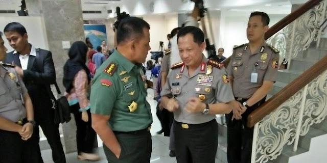 Di milad MUI, Panglima TNI ditepuk tangan, Kapolri disoraki 'Huuu', Kenapa?