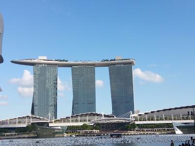 Marina Bay Sands Singapore at afternoon