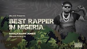 Download Audio | Khaligraph Jones - Best Wrapper in Nigeria