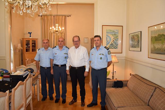 Συναντήσεις του Γενικού Περιφερειακού Αστυνομικού Διευθυντή με θεσμικούς φορείς