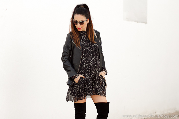 blogger embarazada con consejos para vestir con estilo y comoda durante el embarazo