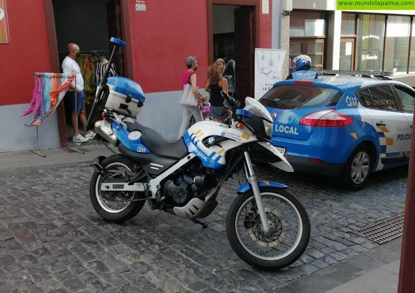 Detenido un hombre en Santa Cruz de La Palma por escándalo público y amenazas