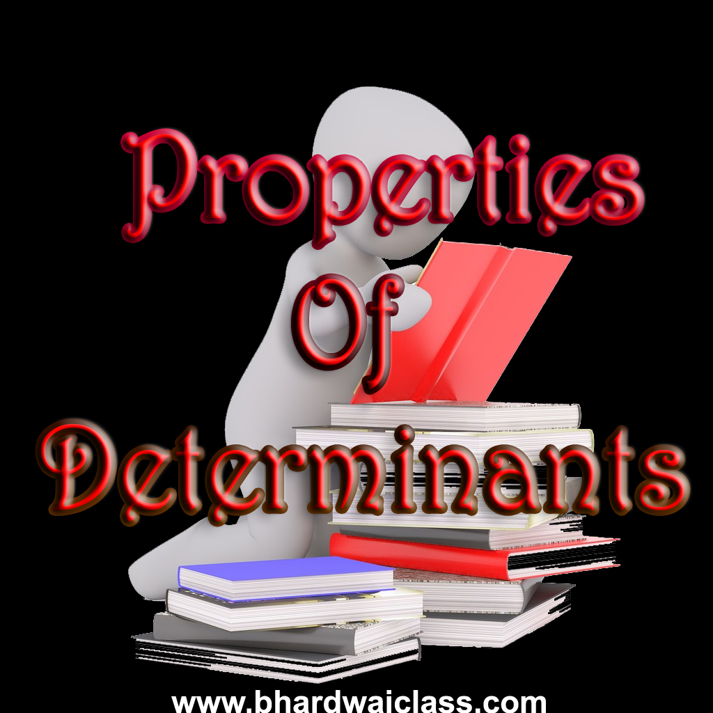 Properties of Determinants -important Questions