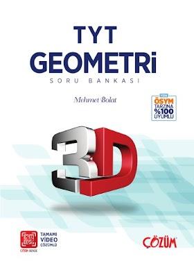 Çözüm 3D TYT Geometri Soru Bankası