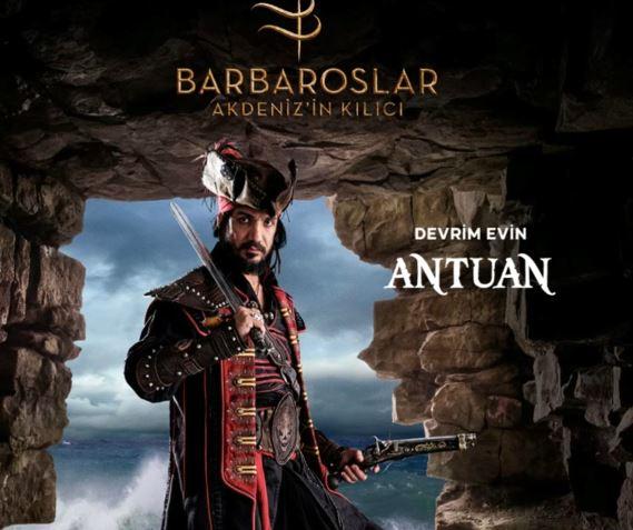 Barbaroslar Akdeniz'in Kılıcı Antuan Kimdir?