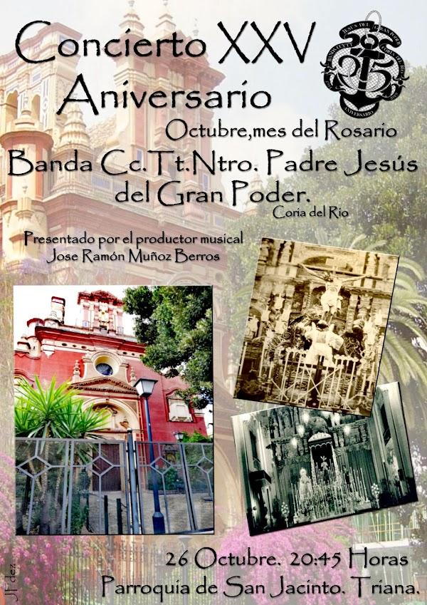 Concierto de la Banda del Gran Poder de Coria en San Jaciento