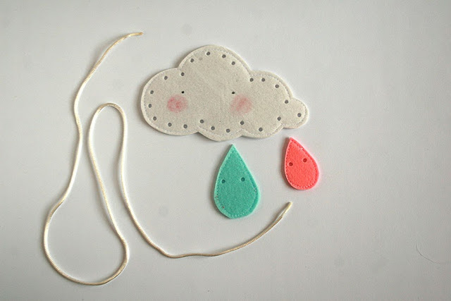 How to make a rainbow lacing cards handmade by TomToy
