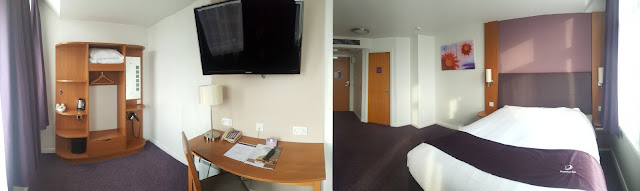 Such a big room, Premier Inn