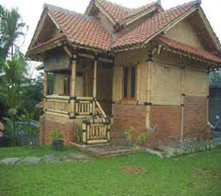 Modern Home Design Bamboo House A Natural Feel Of The