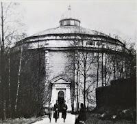 Rotunda, w której prezentowano Panoramę Racławicką