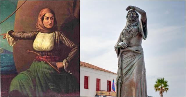 22 Μαΐου 1825: Πεθαίνει η Λασκαρίνα Μπουμπουλίνα - Ο αποκεφαλισμός του γιου της στο Άργος και το άδοξο τέλος της