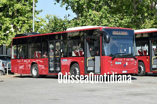 Atac: piano 2022-24 prevede 635 nuovi autobus