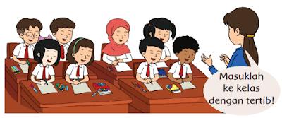 Masuklah ke kelas dengan tertib! www.simplenews.me