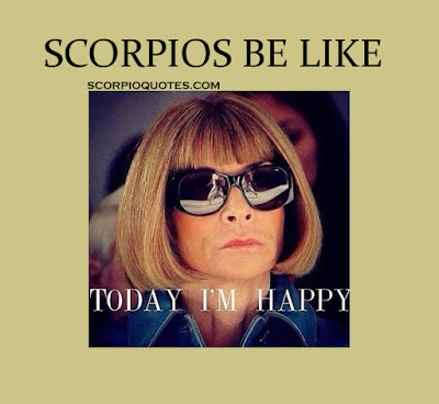 scorpio be like meme