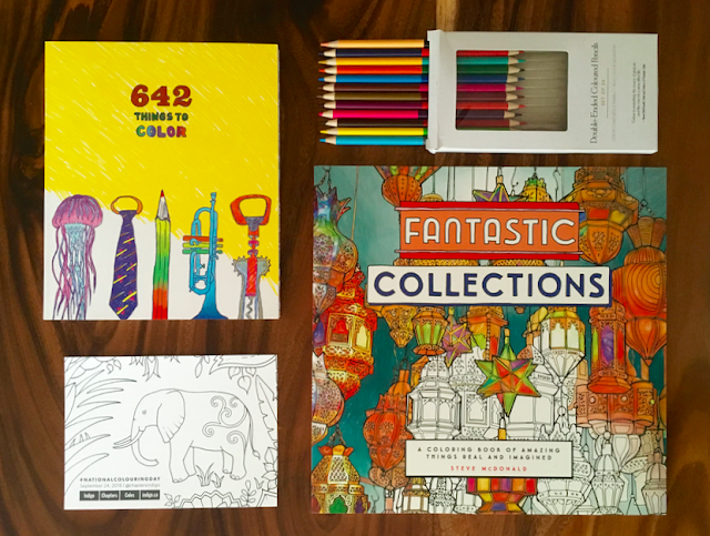 Celebrate National Colouring Day at Indigo #NationalColouringDay