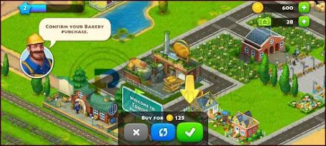 بناء المصانع لعبة Township