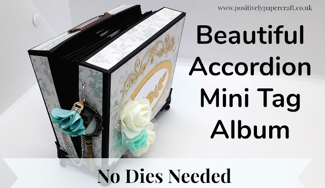 No dies accordion album, positivelypapercraft